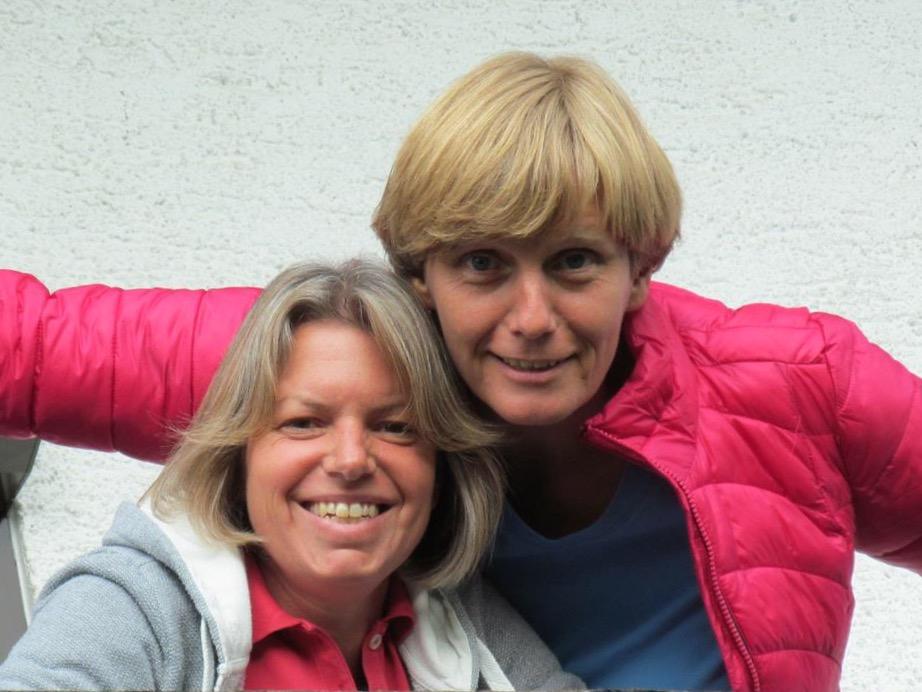 Myriam und Susanne, Networker
